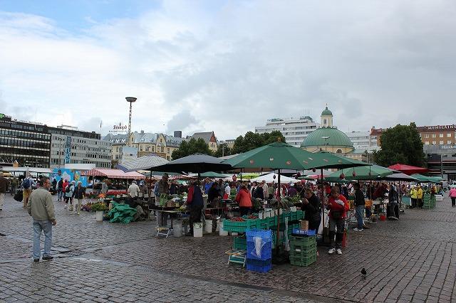 北欧『フィンランド』へ行ったら市場へ。「スナック」片手に街歩きしませんか?