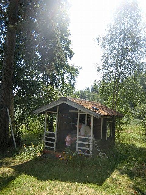 北欧『フィンランド』の子どもの家。「レイキモッキ」に子どもが夢中になる理由