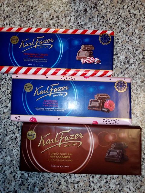 北欧『フィンランド』のチョコレート。お土産に「F a z e r」チョコはいかが?