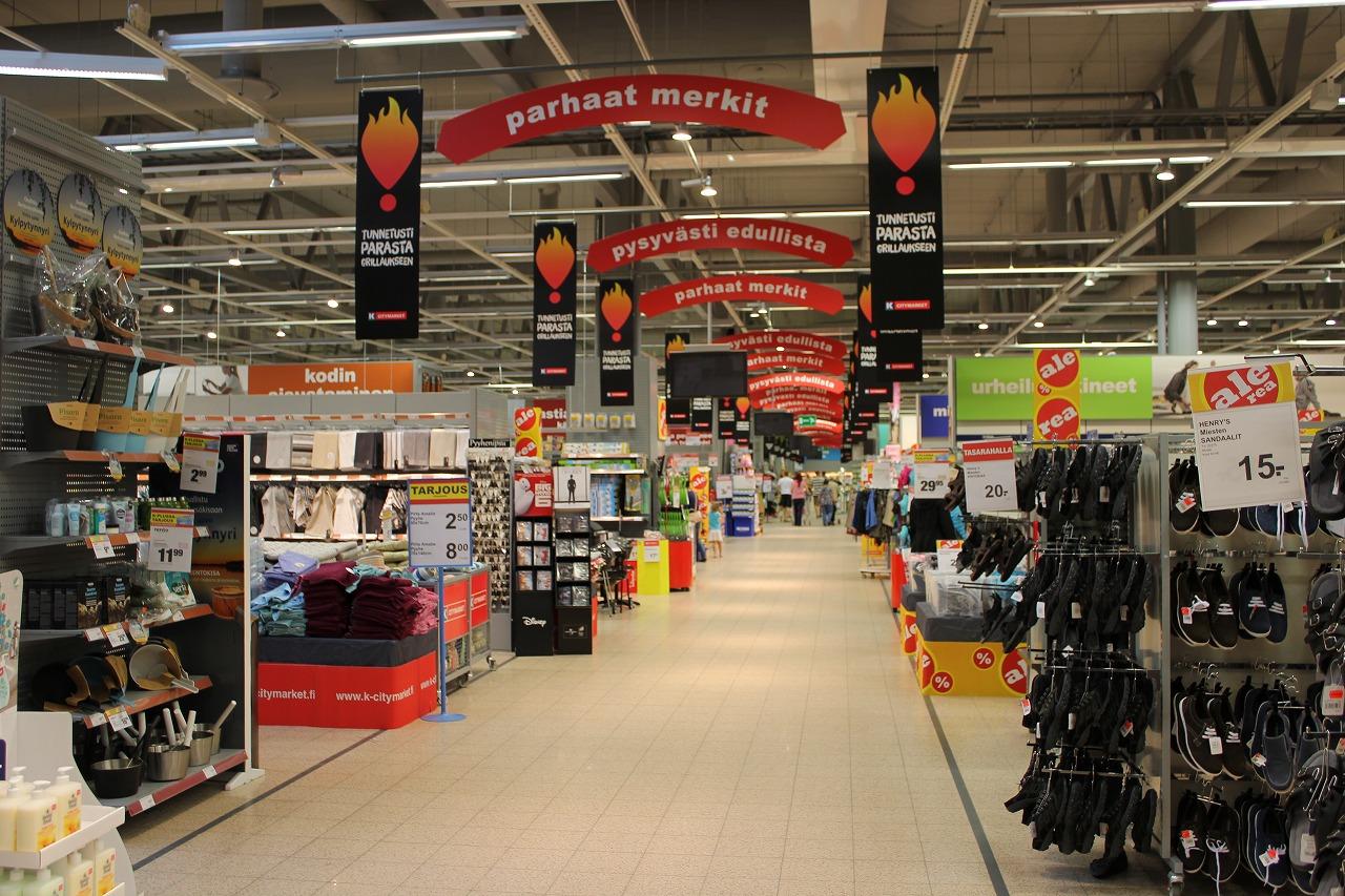 北欧『フィンランド』のスーパーマーケットへ行ってみるべし!お土産の宝庫かも!?